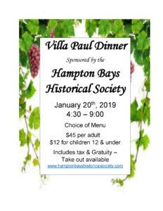 Villa Paul Fundraiser